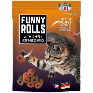 Perfecto Cat Funny Rolls s KUŘECÍM 180g