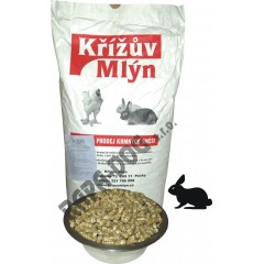 Granule pro králíky KBR 15kg