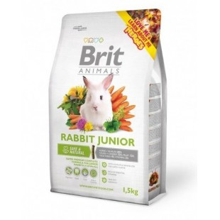 Brit Animals Králík Junior 300g - RABBIT JUNIOR Complete