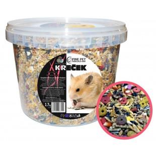 FINE PET Křeček Premium 1,7kg - VĚDRO