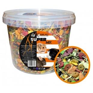 FINE PET Super Mix pro hlodavce 1,2kg - VĚDRO