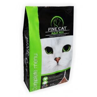 FINE CAT Adult Mix 10kg - PYTEL