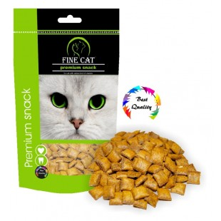 FINE CAT Polštářky kuřecí 100g - DOYPACK