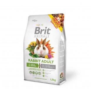 Brit Animals Králík Adult 1,5kg - RABBIT ADULT Complete