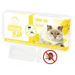 Herba Max Spot On pro kočky všech plemen 1x 1ml