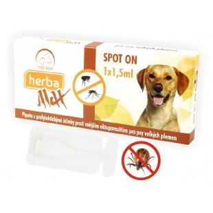 Herba Max Spot On pro psy velkých plemen 1x 1,5ml
