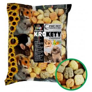 FINE PET Zeleninové krokety pro hlodavce 100g