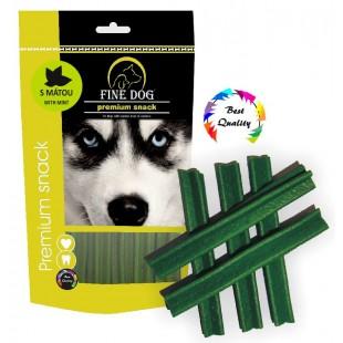 FINE DOG Mentolový kříž 12,5cm 5ks - DOYPACK
