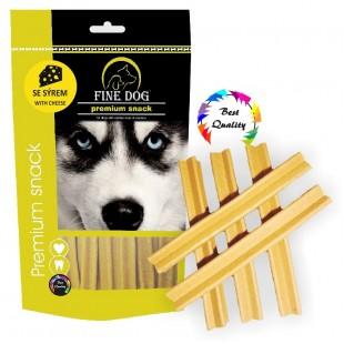 FINE DOG Sýrový kříž 12,5cm 5ks - DOYPACK