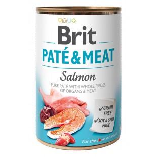 Brit Paté & Meat Salmon 400g konzerva