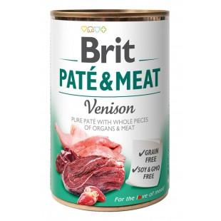 Brit Paté & Meat Venison 400g konzerva