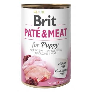 Brit Paté & Meat Puppy 400g konzerva