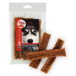 FINE DOG Hovězí tyč 10-12cm 96% MASA 3ks