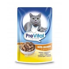 PreVital Cat kapsa Kuřecí 100g