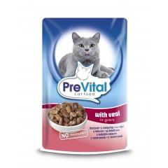 PreVital Cat kapsa Telecí 100g
