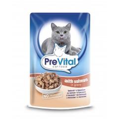 PreVital Cat kapsa Losos 100g