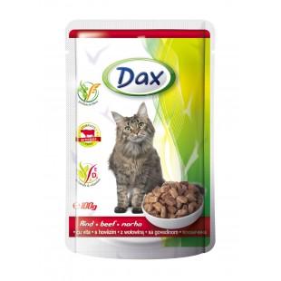 Dax KAPSA pro kočku hovězí 100g