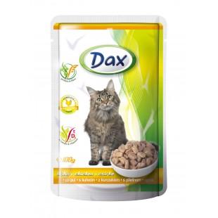 Dax KAPSA pro kočku kuřecí 100g