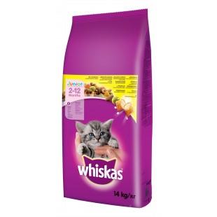 Whiskas GRANULE JUNIOR pro koťata s kuřecím masem 14kg