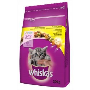 Whiskas GRANULE JUNIOR pro koťata s kuřecím masem 300g