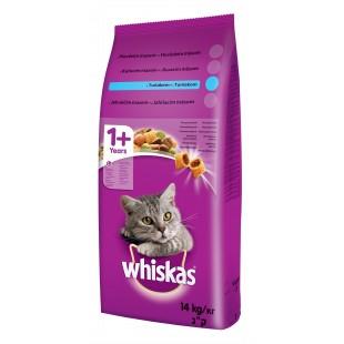 Whiskas GRANULE pro kočky s tuňákem 14kg