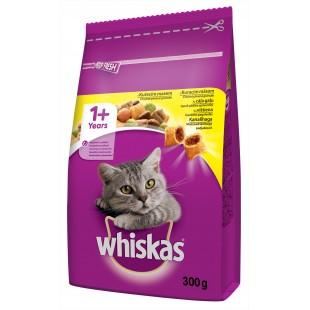 Whiskas GRANULE pro kočky s kuřecím masem 300g
