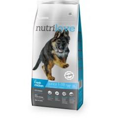 Nutrilove GRANULE pro psy Junior L s čerstvým kuřecím 3kg