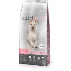 Nutrilove GRANULE pro psy Sensitive s jehněčím 3kg