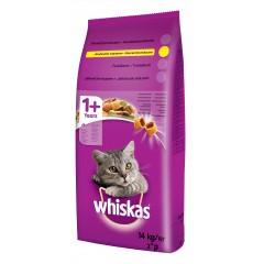Whiskas GRANULE pro kočky s kuřecím masem 14kg