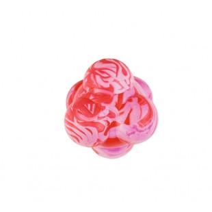 "Gumový míček ""ATOMEK"" skákací vanilka č.2 SUM-PLAST pr.7cm - HRAČKA"