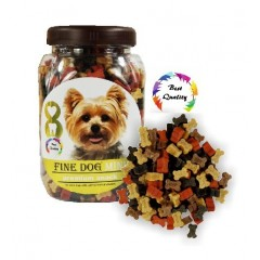 FINE DOG MINI Kostička mini Soft MIX 300g