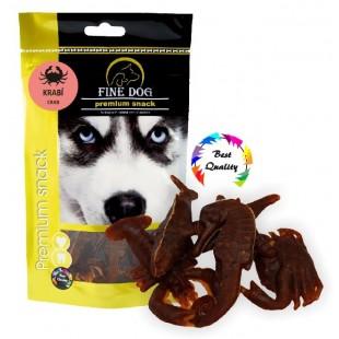 FINE DOG Krabí plody moře 7ks- DOYPACK