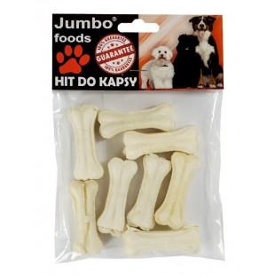JUMBO FOODS Kost bůvolí BÍLÁ 5cm / 8ks