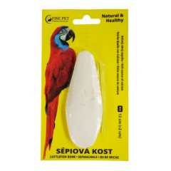 FINE PET Sépiová kost broušená 12cm (+/-2cm) na kartě *blistr*