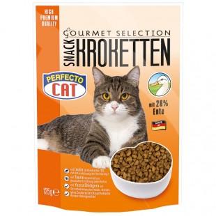 Perfecto Cat Kroketten snack 28% KACHNA 125g