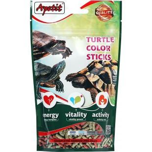 """Apetit krmivo pro vodní i suchozemské želvy 120g - DOYPACK """"TURTLE COLOR STICKS"""""""