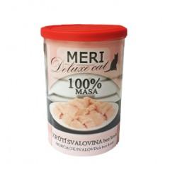FALCO MERI Cat konzerva deluxe krůtí maso bez kostí 400g - 100% masa