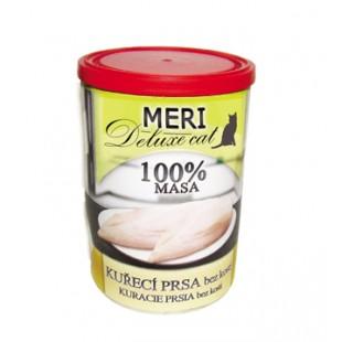 FALCO MERI Cat konzerva deluxe kuřecí prsa bez kosti 400g - 100% masa