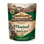 Carnilove Dog Pouch Paté Pheasant with Raspberry Leaves 300g - KAPSA