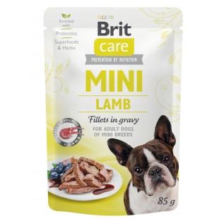 Brit Care MINI Dog Lamb fillets in gravy 85g - KAPSA