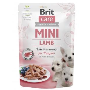 Brit Care MINI Dog Puppy Lamb fillets in gravy 85g - KAPSA