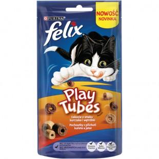FELIX Play Tubes s příchutí kuřete a jater 50g