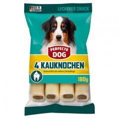 Perfecto Dog Plněná žvýkací tyčinka hovězí 4ks / 180g