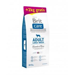 """Brit Care Dog Adult Large Breed Lamb & Rice 12kg """"AKCE +2kg Zdarma"""""""