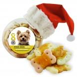 FINE DOG MINI Vánoční kostička s kuřecím masem 400g