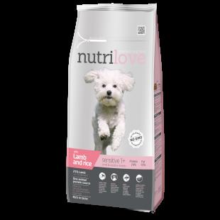 Nutrilove GRANULE adult Sensitive Small & Medium breeds s jehněčím 1,6kg