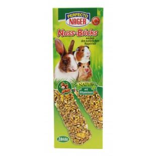 Perfecto Nager mix ořechů tyčky pro hlodavce a zakrslé králíky 2ks / 112g