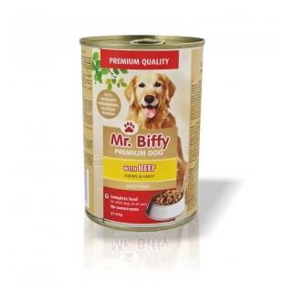 Mr.Biffy Dog konzerva pro PSY Hovězí 415g