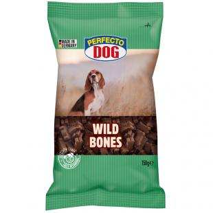 """Perfecto Dog Kostičky se zvěřinou 150g """"WILD BONES"""""""