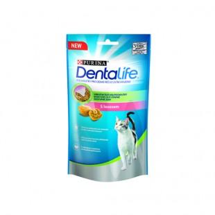 Purina Dentalife Cat s lososem 40g - pochoutka pro kočky